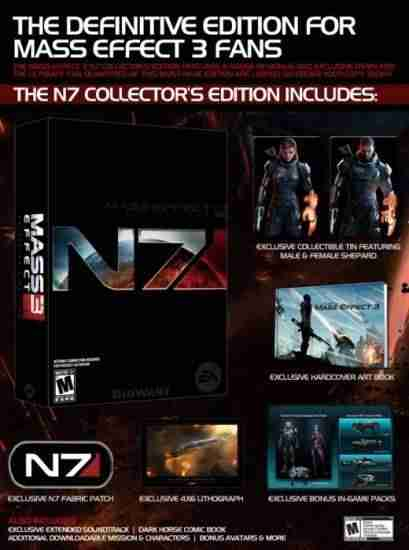 Descargar Mass Effect 3 Ultimate Collectors Edition [MULTI][5DVD5][3DM] por Torrent